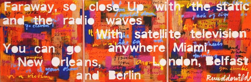 Ruud de Wild Far away so close 240 x 80 cm