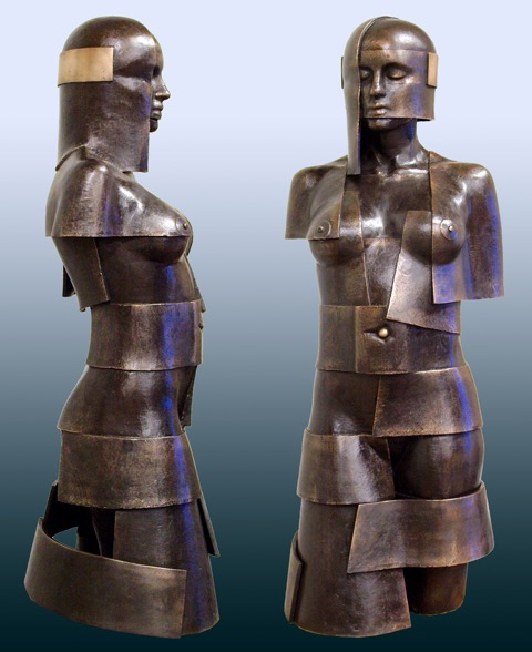 Ton Voortman bronze sculptures